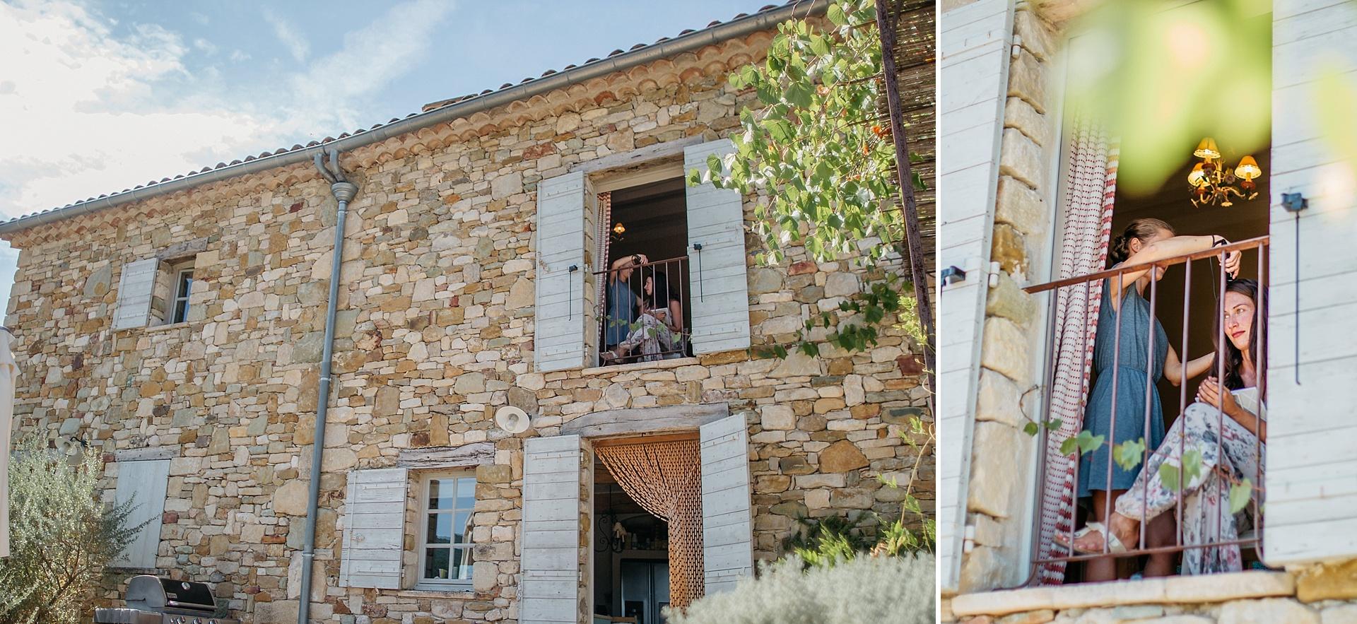 Traumhafte Hochzeit in der Provence. Getting Ready.