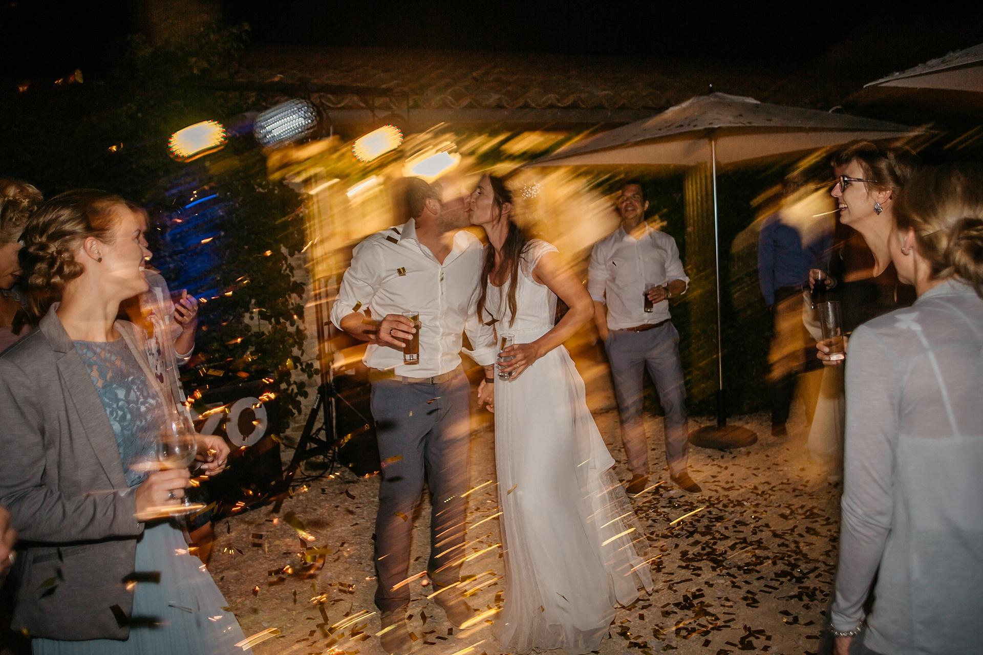 Traumhafte Hochzeit in der Provence. Partytime.