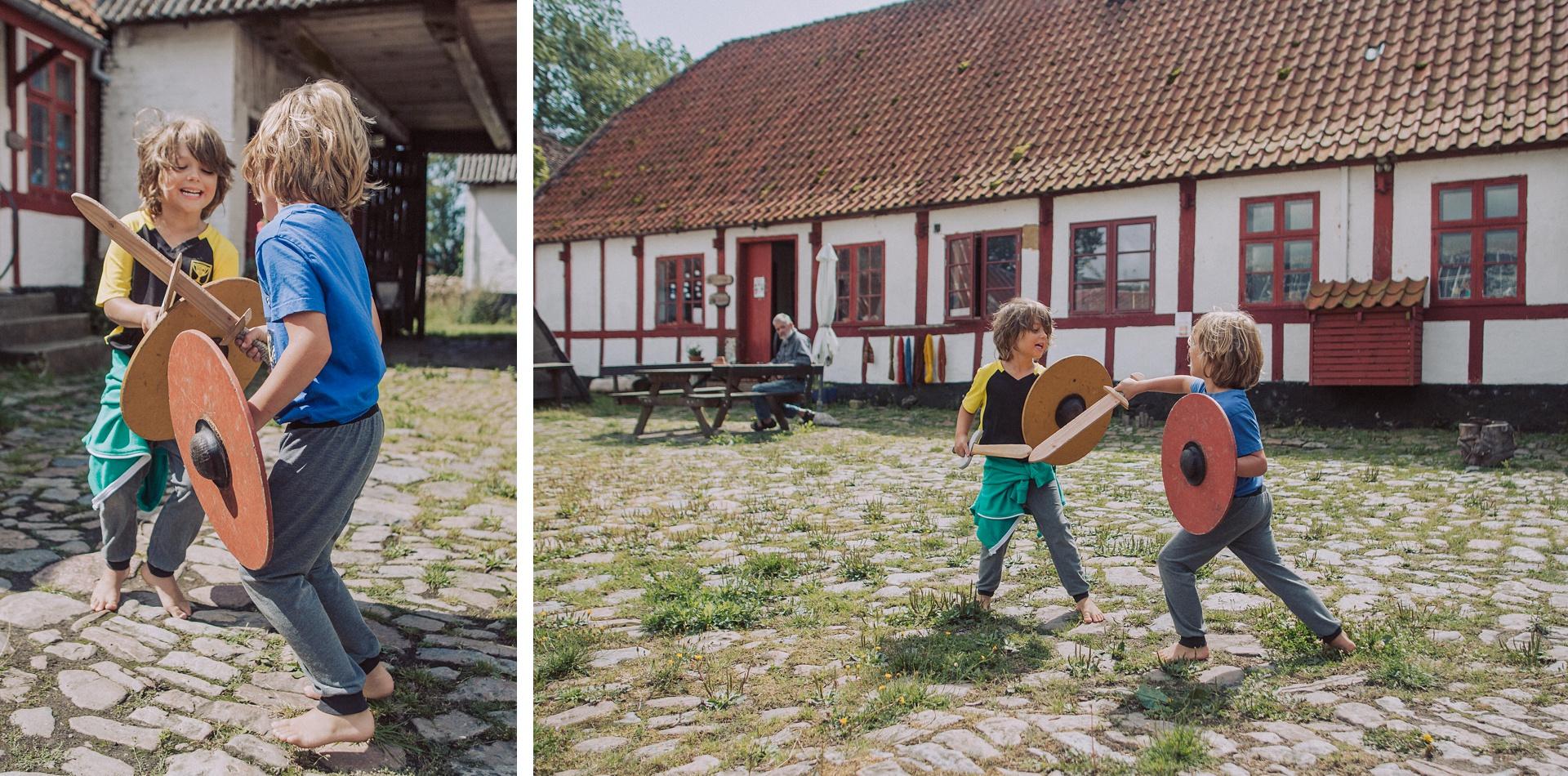 Bornholm Momente - Besuch auf dem Vikingerhof