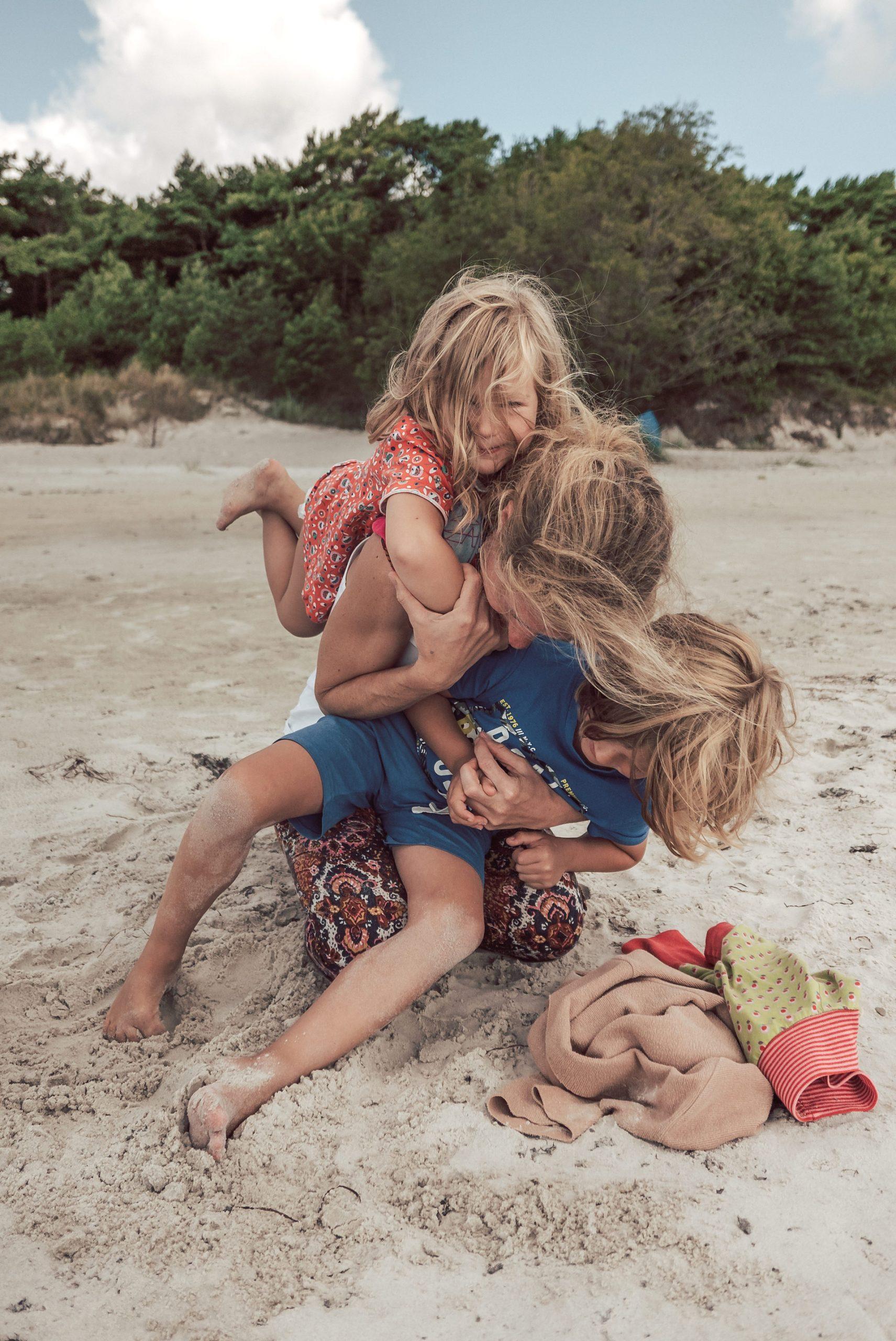 Familienfoto - Bornholm Momente - Dueodde Strand